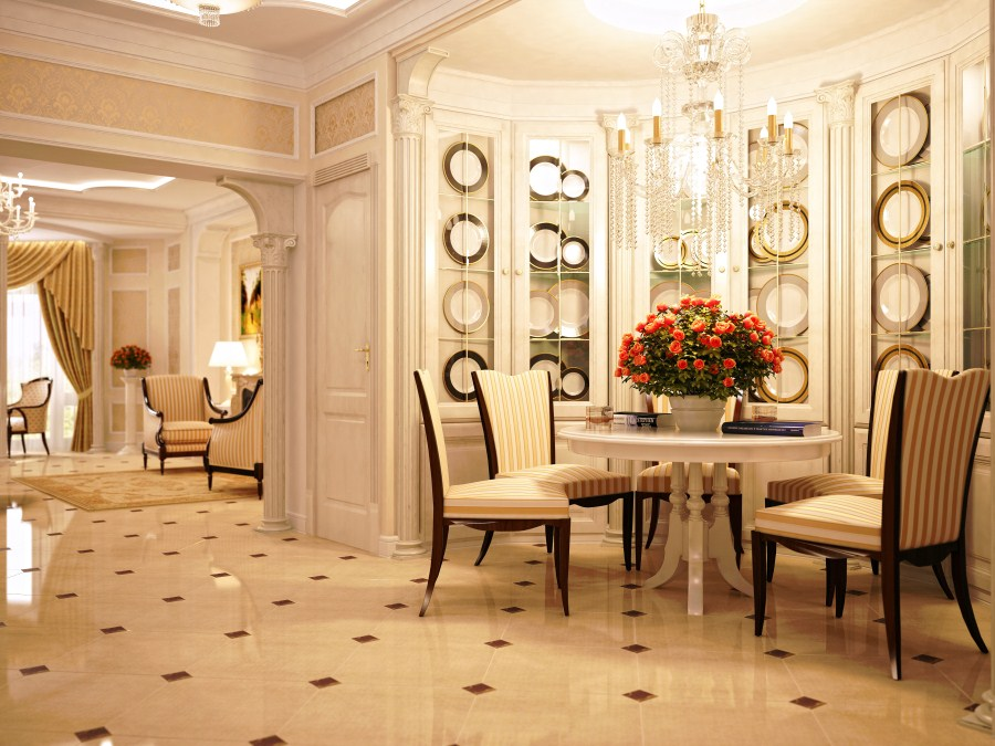 Il mulino arredamenti srl for Homes with beautiful dining rooms